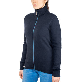 Woolpower Unisex 400 Full Zip Jacket Colour Collection dark navy/nordic blue